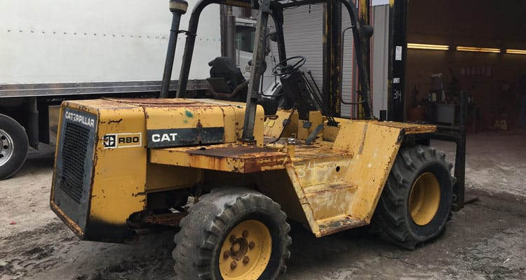 restore construction equipment