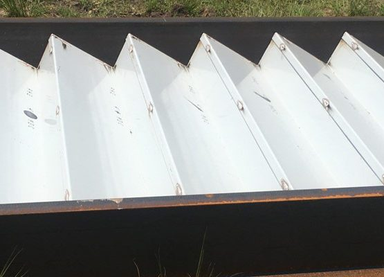 anti-skid coating metal stairs